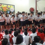 Grade 5 students at an orphanage- Children of The World